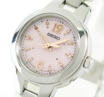 レビューを書いて3年保証★送料無料SEIKOTISSEセイコーティセソーラー電波時計SWFH023レディース国内正規品時計腕時計ブライダル結納シルバーピンク