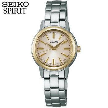 SEIKOセイコーSPIRITスピリットSSDY020国内正規品レディース腕時計ウォッチメタルバンド電波ソーラーアナログゴールド銀シルバー