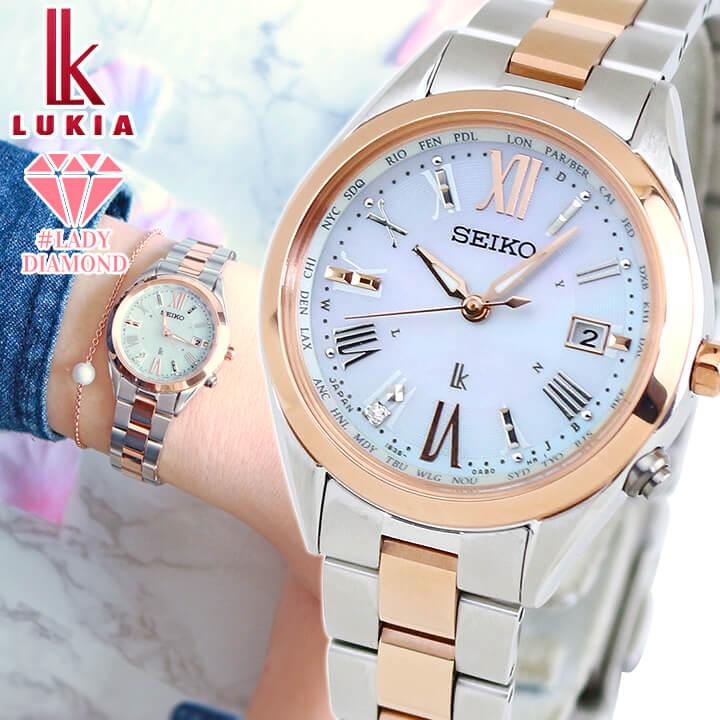 腕時計, レディース腕時計 SEIKO LUKIA Lady Diamond SSQV040