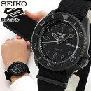 SEIKOセイコー5SPORTSファイブスポーツ5スポーツStreetStyleメンズ腕時計ナイロン自動巻き黒ブラック流通限定モデル誕生日プレゼント男性ギフトSBSA025国内正規品商品到着後レビューを書いて7年保証