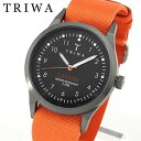 TRIWA トリワ LANSEN ランセン LAST109-MO060512 海外モデル メンズ レディース 腕時計 男女兼用 ユニセックス オレンジ 父の日 実用的 誕生日プレゼント 男性 女性 ギフト ブランド
