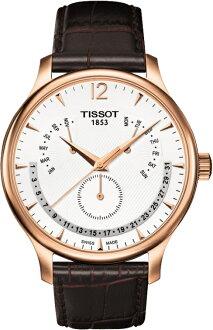 """TISSOT T063.637.36.037.00 """"T-CLASSIC TISSOT TRADITION PERPETUAL CALENDAR"""""""