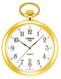 "TISSOT T82.4.550.12 ""T-POCKET LEPINE QUARTZ"""