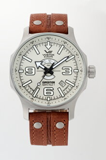 """VOSTOK EUROPE 2432-5955192 """"EXPEDITION NORTHPOLE-1 Day & Night Line"""""""