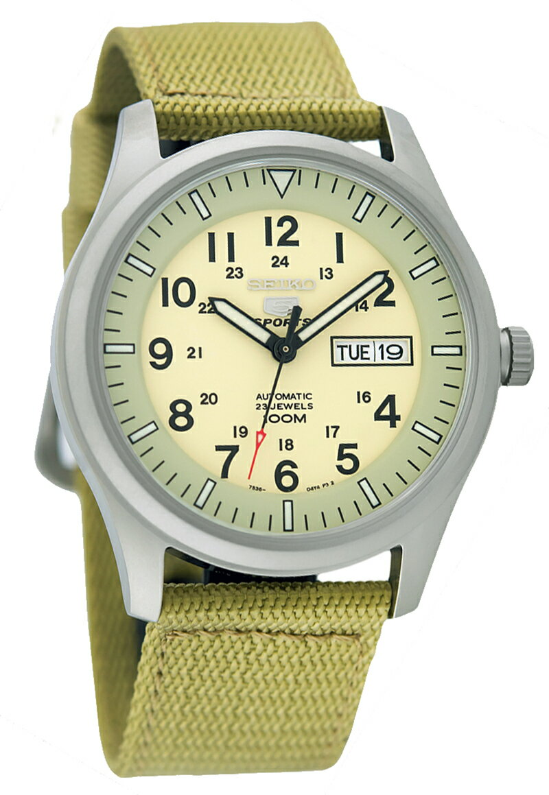 腕時計, メンズ腕時計 10 2019 NEW MODEL SEIKO SNZG07K1 MILITARY 100m