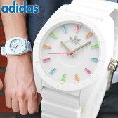 アディダス ADIDAS adidas originals サンティアゴ ADH2915 メンズ レディース 腕時計 時計 カジュアル ウォッチ アディダス 白 ホワイト マルチカラー 海外モデル 誕生日プレゼント 男性 女性 ギフト