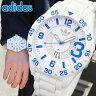 ★送料無料 アディダス adidas Originals オリジナルス NEWBURGH ニューバーグ メンズ 腕時計 時計 ADH3012 海外モデル ホワイト 白 ブルー 青 誕生日 ギフト