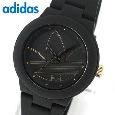 アディダスadidasoriginalsADH3013アバディーンABERDEENユニセックスメンズレディース腕時計新品時計ペアウォッチウォッチ黒ブラックゴールド