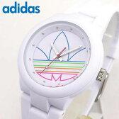 adidas アディダス かわいい 時計 白 ランニング adidas originals オリジナルス ABERDEEN アバディーン ADH3015 海外モデル レディース 腕時計 シリコン ラバーバンド ホワイト 誕生日プレゼント 女性 ギフト