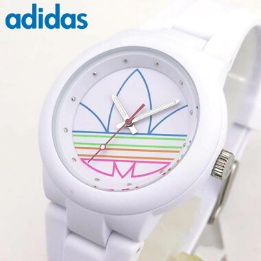 adidasアディダスadidasoriginalsABERDEENADH3015海外モデルメンズレディース腕時計男女兼用ユニセックスシリコンラバーバンドホワイト白