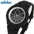 adidas アディダス ランニング ADH3048 海外モデル レディース 腕時計 時計 黒 ブラック アバディーン 誕生日 ギフト