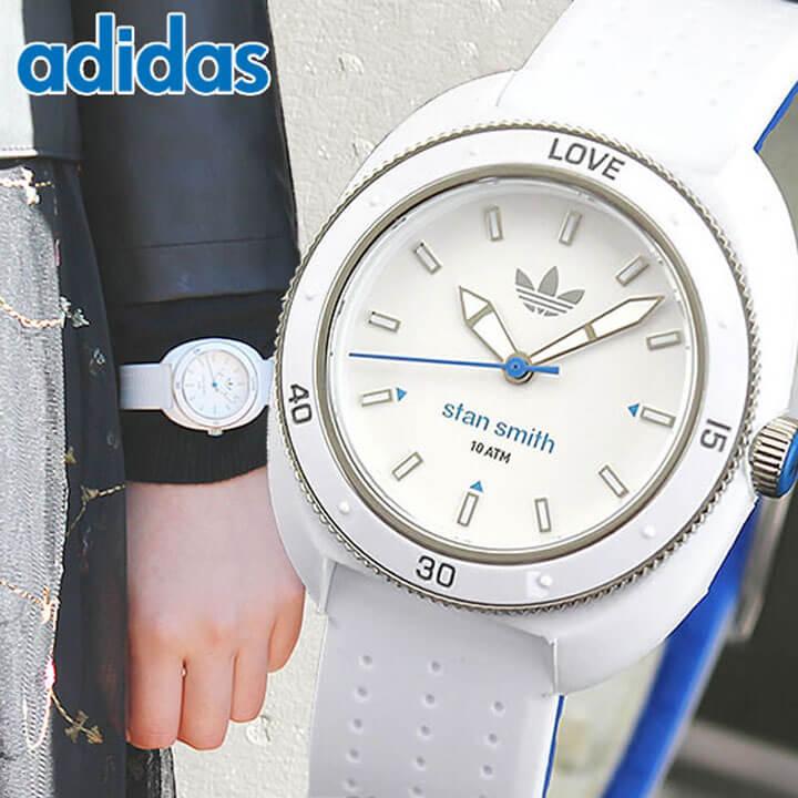 アディダス スタンスミス ADH3123 ホワイト/ブルー