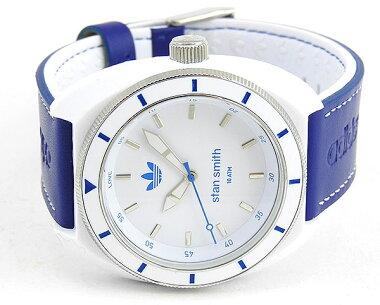 ★送料無料adidasアディダスstansmithスタンスミスADH9087海外モデルメンズレディース腕時計男女兼用ユニセックス白ホワイト青ブルー誕生日プレゼントギフト