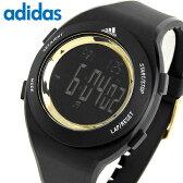 adidas アディダス ランニング ADP3208 海外モデル メンズ レディース 腕時計 男女兼用 ユニセックス 多機能 黒 ブラック パフォーマンス デジタル スポーツ 誕生日プレゼント ギフト
