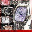 ●送料無料!!Alessandra Olla アレッサンドラオーラ アレサンドラオーラ レディース 腕時計 選べる5カラー 黒 白 赤 紫 ブラック ホワイト レッド パープル ピンク AO981 AO982 AO985 AO987 AO988 メタルバンド トノー型 誕生日 ギフト
