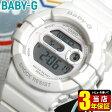商品到着後レビューを書いて3年保証 CASIO カシオ Baby-G ベビーG ベイビージー レディース 腕時計時計 デジタル 多機能 防水 BGD-140-7A海外モデル 白 ホワイトスポーツ 誕生日 ギフト