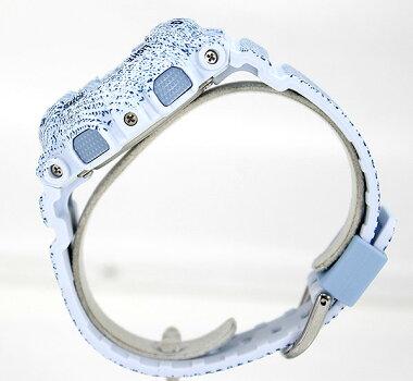 ★送料無料CASIOカシオBaby-GベビーGDENIM'DCOLORBA-110DC-2A3レディース腕時計クオーツアナログデニム水色青ライトブルー海外モデル夏物誕生日ギフト