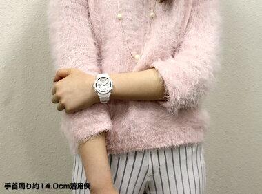 BOX訳あり商品到着後レビューを書いて3年保証CASIOカシオBaby-GベビーGベイビージーBGA-150-7B海外モデルアナログレディース腕時計カジュアル白ホワイト誕生日プレゼントギフト