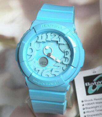 CASIOカシオBaby-GベビーGBGA-130-2Bライトブルーカラフルなネオンイルミネーター搭載NeonDialSeries【ネオンダイアルシリーズ】海外モデル【楽ギフ_包装】【smtb-KD】レディース腕時計