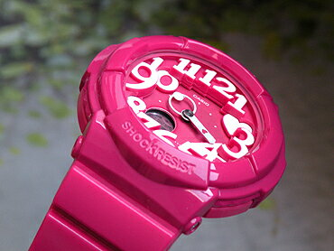 【CASIO】カシオ【Baby-G】ベビーGBGA-130-4Bピンク海外直輸入品カラフルなネオンイルミネーター搭載NeonDialSeries【ネオンダイアルシリーズ】立体的なインデックス【楽ギフ_包装】(北海道・沖縄・離島は送料無料対象外地域)