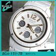 CASIO カシオ Baby-G ベビーG ベイビージー BGA-151-7B海外モデル アナログ レディース 腕時計 新品 時計 新品 カジュアル ウォッチ 白 ホワイトスポーツ 誕生日 ギフト