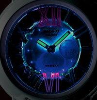 【CASIO】カシオ【Baby-G】ベビーGBGA-160-7B1JFホワイト・国内正規品NeonDialSeriesネオンダイアルシリーズアナデジコンビネーションモデルシャープなローマインデックス【楽ギフ_包装】【smtb-KD】レディース腕時計