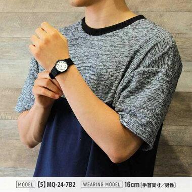 【3ヶ月保証】レビューを書いてメール便で送料無料CASIO選べるチープカシオチプカシ黒ブラックホワイトメンズレディース腕時計時計アナログ海外モデル