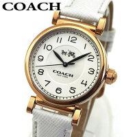 COACH コーチ 14502408 レディース 腕時計 革ベルト レザー ピンクゴールド ホワイト 白色 誕生日プレゼント 女性 ホワイトデー お返し ギフト 海外モデル