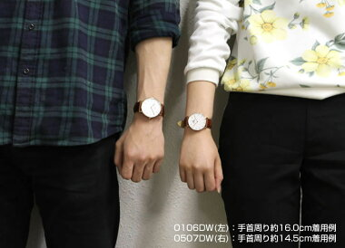 DanielWellingtonダニエルウェリントンペアウォッチ2本セット36mm40mmレザーメンズレディース腕時計男女兼用時計レザーベルト茶色系海外モデルギフト