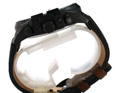 DIESELディーゼルMEGACHIEFメガチーフDZ4305海外モデルメンズ男性用腕時計新品時計ウォッチアナログクロノグラフブラウンレザーブルーガラス【楽ギフ_包装】ホワイトデー