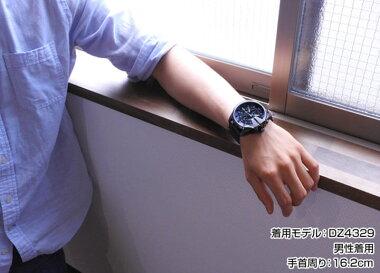 レビューを書いて★送料無料DIESELディーゼルメガチーフMEGACHIEFビックケースDZ4329海外モデルメンズ腕時計男性用時計カジュアルウォッチ新品アナログネイビー×ガンメタルクロノグラフクロノ