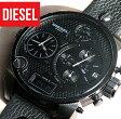 ★送料無料 ディーゼル DIESEL メンズ 時計 DZ7193 オールブラック 黒 腕時計 watch レザーベルト 海外モデル 誕生日 ギフト