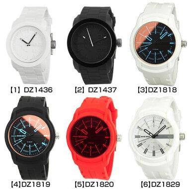 DIESEL選べるディーゼルメンズ腕時計カジュアルブランドレザーシリコンラバー赤青白黒ブラックメタルアナログDZ1593DZ1669DZ1670DZ1671DZ1686DZ1384DZ1533DZ1777海外モデル