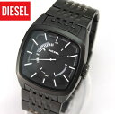 DIESEL ディーゼルメタル ブラック IP 黒 DZ1586 SCALPED メンズ 腕時計 watch 時計 アナログ カジュアル DIESEL ディーゼル 海外モデル 誕生日 ギフト