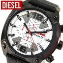 裏ぶた訳あり ★送料無料 DZ4278 海外モデル DIESEL ディーゼル レザーカジュアル OVERFLOW オーバーフロー メンズ 腕時計 watch 時計 誕生日プレゼント ギフト
