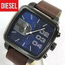 ★送料無料 DIESEL ディーゼル DZ4302 メンズ 腕時計 watch時計アナログ クロノグラフ ダークブルー カジュアル レザー 青系