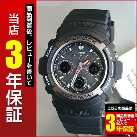 CASIO カシオGショック ジーショック G-SHOCK AWG-101-1A海外モデル タフ ソーラー電...