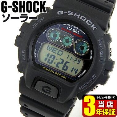GショックタフソーラーG-6900-1電池切れの心配のないソーラー充電のG-SHOCKです