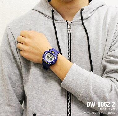 G-SHOCK腕時計爽やかカラーのCASIO-Gショックが特別セール!アウトドアからビジネスユースまで腕時計DW-9052-2VDR