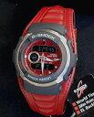 CASIO カシオ Gショック ジーショック G-SHOCK Gスパイク G-300L-4AV G-SPIKE レザーバンド 赤 レッド メンズ 腕時計 防水 時計 誕生日プレゼント 男性 ギフト