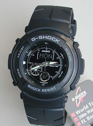 CASIO カシオ Gショック ジーショック gshock G-SHOCK G-spike G-301B-1A 海外モデル メンズ 腕時...