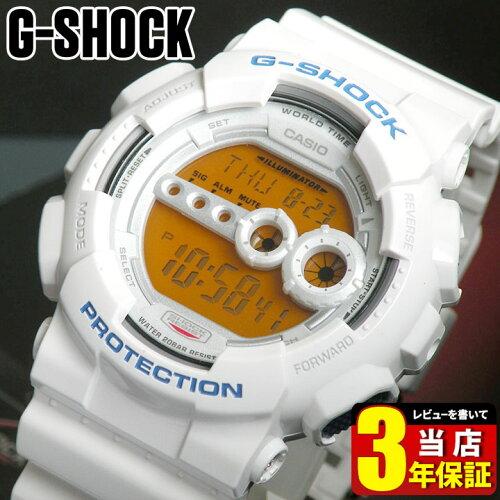 BOX訳あり CASIO カシオ Gショック ジーショック G-SHOCK メンズ 腕時計 GD-100SC-7 白 ホワイト ...