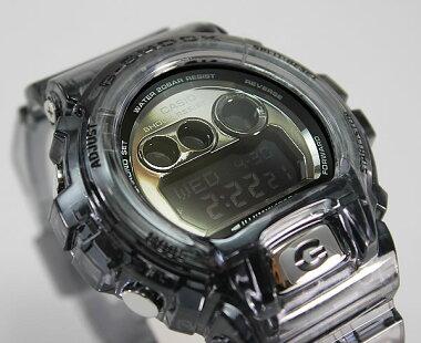 CASIOカシオG-SHOCKGショックメンズ腕時計新品男性用時計ウォッチビッグサイズシリーズGD-X6900FB-8Bグレースケルトン海外モデル【楽ギフ_包装】ホワイトデー