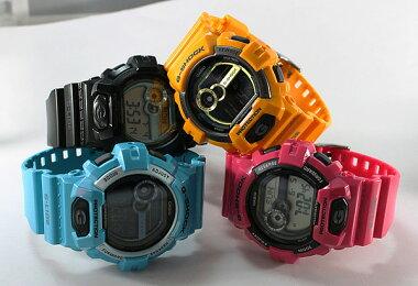 商品到着後レビューを書いて3年保証CASIOカシオG-SHOCKGショックジーショックメンズ腕時計GLS-8900-4ピンク海外モデルスポーツ誕生日プレゼントギフト