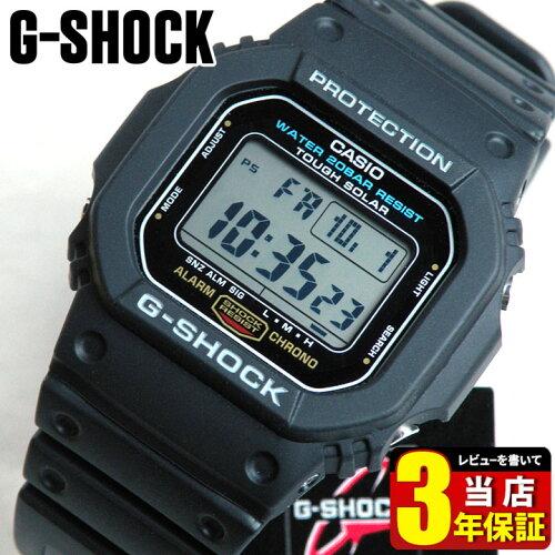 CASIO カシオ Gショック ジーショック G-SHOCK タフソーラー G-5600E-1 海外モデル メンズ 腕時計 ...