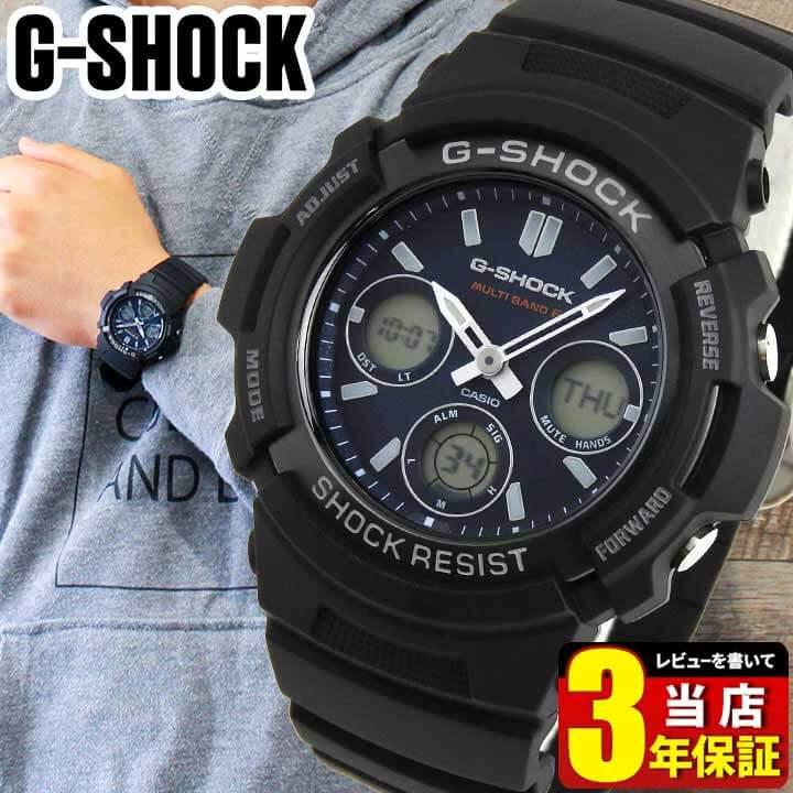 腕時計, メンズ腕時計 CASIO G-SHOCK G AWG-M100SB-2A