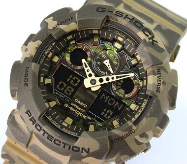 CASIOG-SHOCKGショックジーショックgshockGA-100CM-5A腕時計時計迷彩