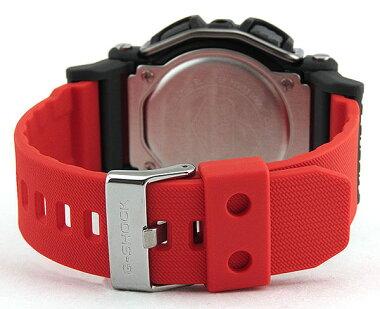 CASIOカシオG-SHOCKジーショックGD-400-4海外モデルメンズ男性用腕時計ウォッチクオーツデジタル赤レッド