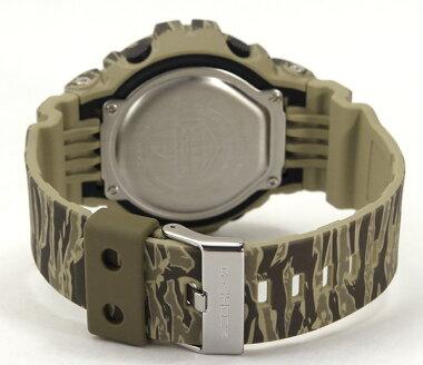 CASIOカシオG-SHOCKジーショックGD-X6900TC-5海外モデルメンズ男性用腕時計メタルバンドクオーツデジタル緑グリーンプレゼント