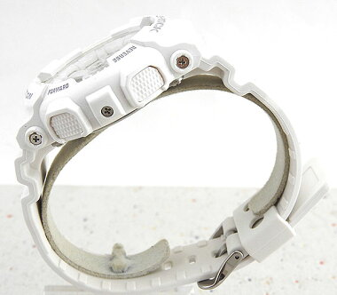 CASIOカシオG-SHOCKジーショックGMA-S110CM-7A1海外モデルメンズ腕時計ウォッチウレタンバンドクオーツアナログ白ホワイト